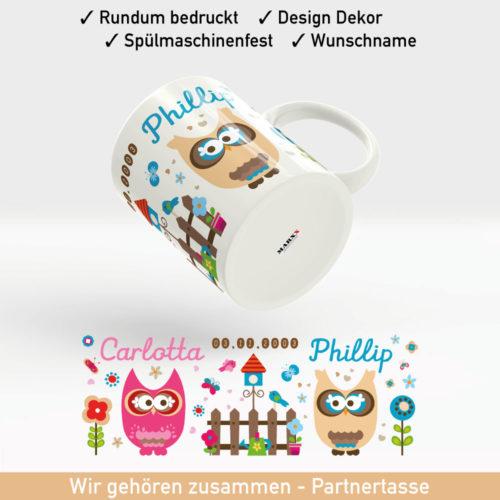 Kaffee Tasse Hochzeit inklusive Datum und Wunschnamen
