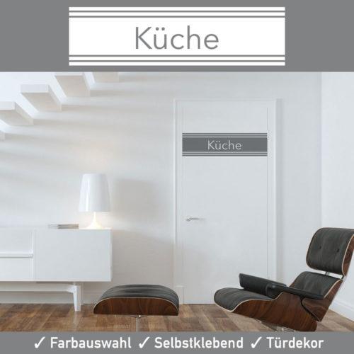 Startbild Tür Aufkleber Küche in vielen erstklassigen Farben und matter Oberfläche