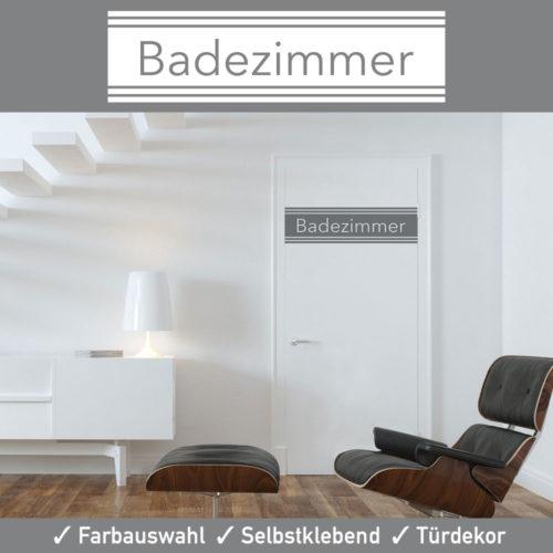 Startbild Türaufkleber Badezimmer