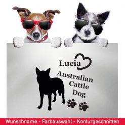 Startbild Auto Aufkleber Australian Cattle Dog
