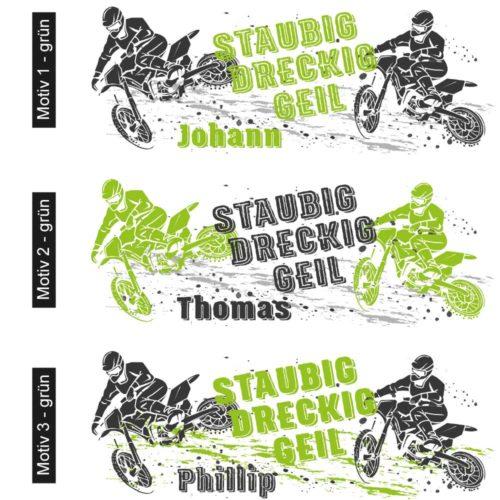 Motocross Tasse MX Motivübersicht