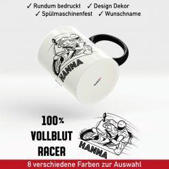 Motorrad Tasse Racer