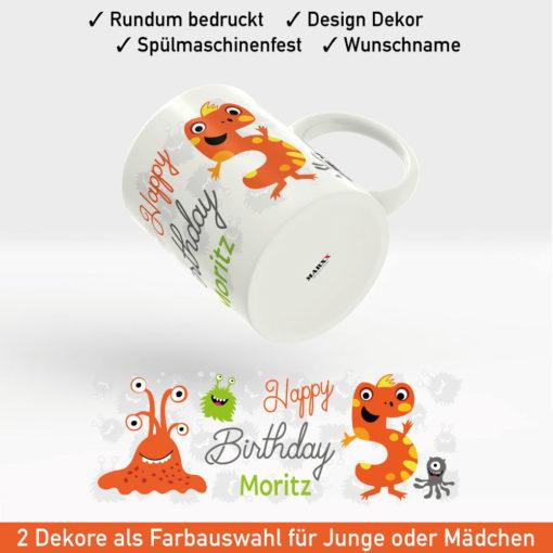 Tasse bedrucken zum Geburtstag Motiv Junge