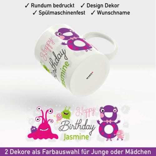 Tasse Namen Geburtstag Motiv Mädchen