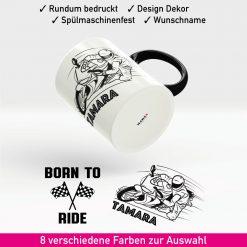 Motorrad Tasse Biker