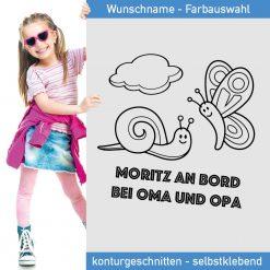 Moritz an Bord Aufkleber für Oma und Opas Auto