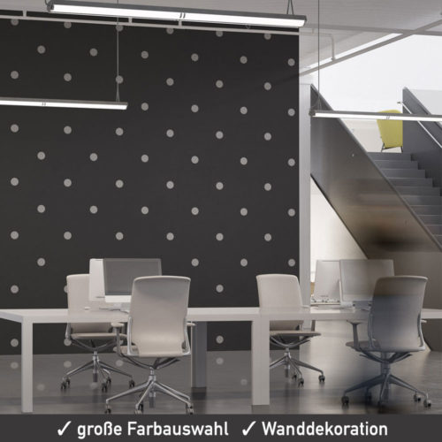 Startbild Wandsticker Dots Punkte Aufkleber Set 40 mm