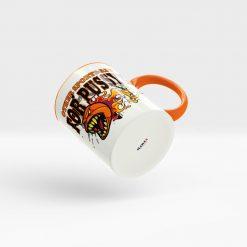 Basketball Kaffeetasse im aggressiven Look Ansicht rechts