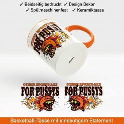 Startbild Basketball Kaffeetasse im aggressiven Look