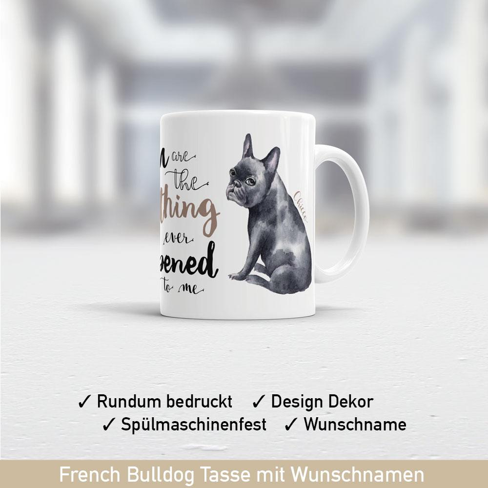 French Bulldog Tasse mit süßem Motiv