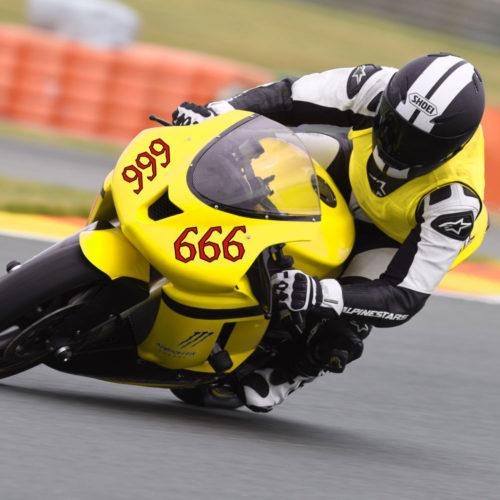 Motorsport Startnummern Aufkleber für Rennsport