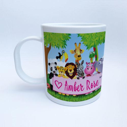 Tasse mit Papagei für Kinder