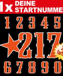 Startnummern für Autocross kaufen