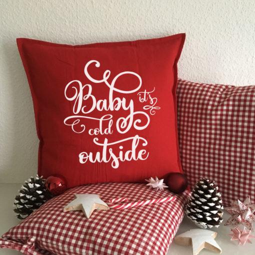 Sprüche Kissen für Weihnachten als Geschenk