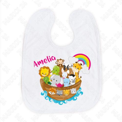 Baby Lätzchen für Mädchen mit Namen