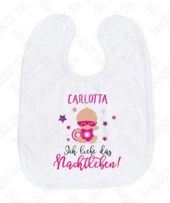 Baby Lätzchen Mädchen mit Name