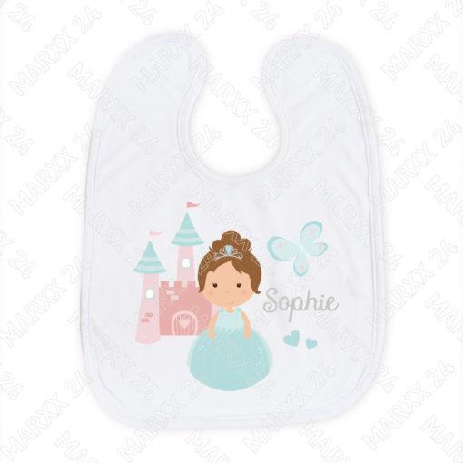 Baby Lätzchen Prinzessin mit Name