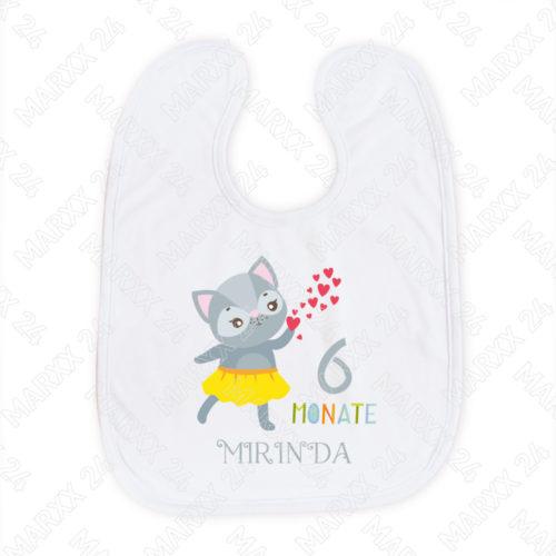 Babylätzchen 6.Monat als Geschenk