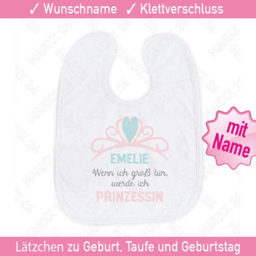 Babylätzchen personalisiert mit Name