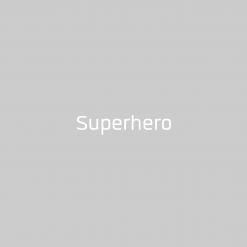 Superhero Babylätzchen