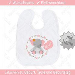 Babylätzchen Tiermotiv