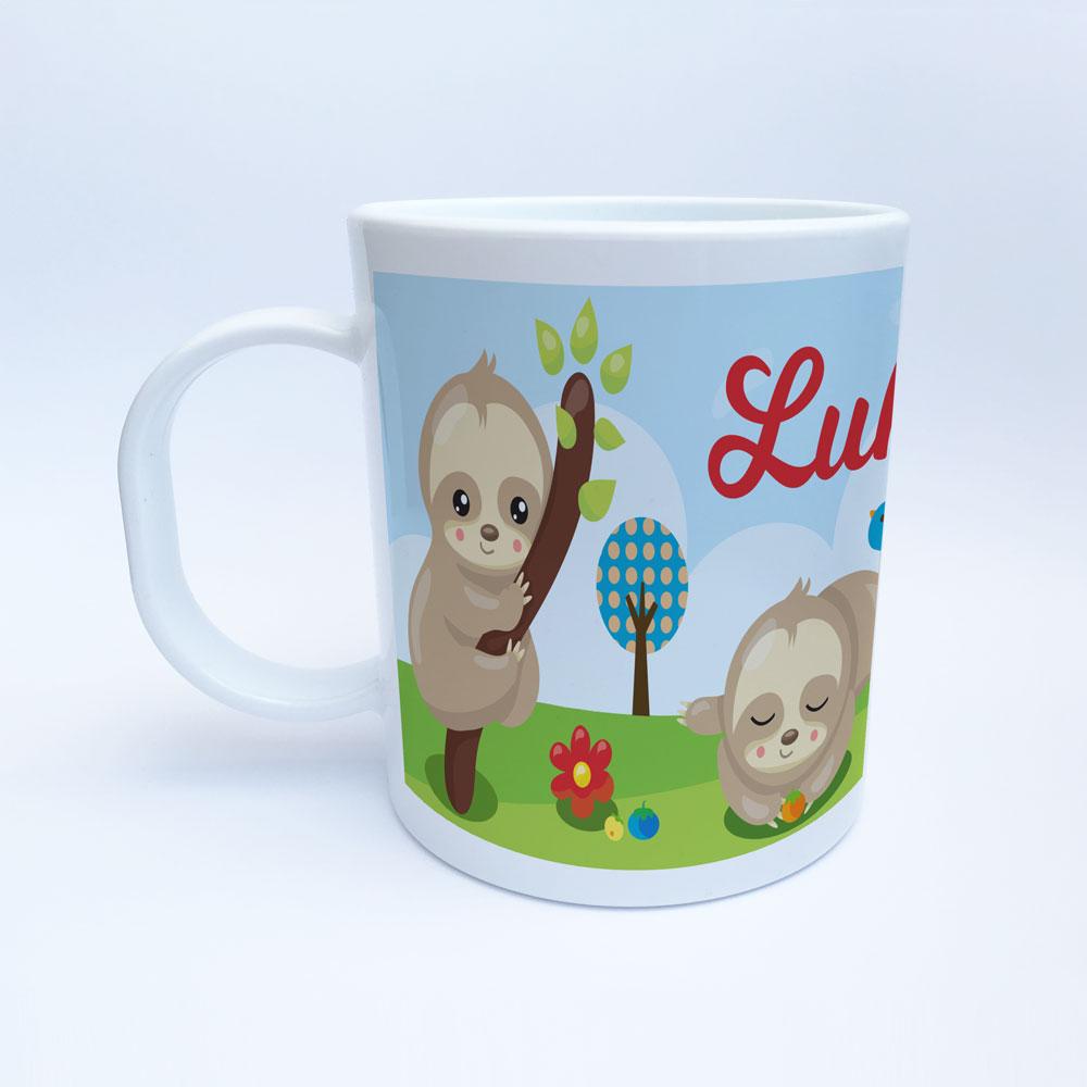 Bedruckte Kunststoff Tasse für Kinder