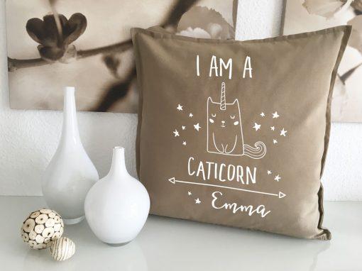 Caticorn Geschenke mit Name