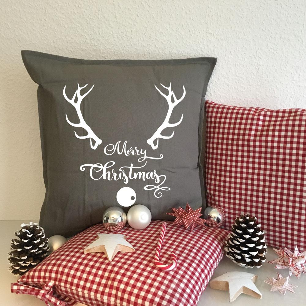 Kissenbezug Weihnachten Kissenhülle Weihnachten