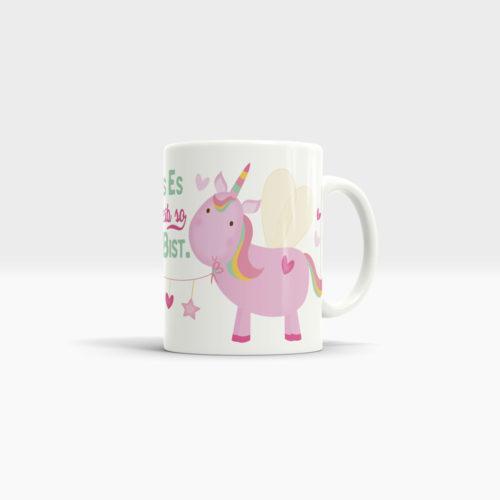 Einhorn Tasse mit viel Liebe