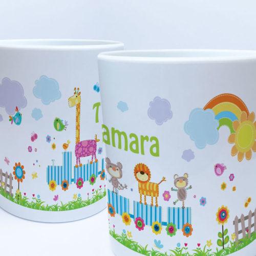 Kunststoff Kindergarten Tasse