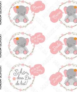 Elefantenbaby Tasse Motivübersicht