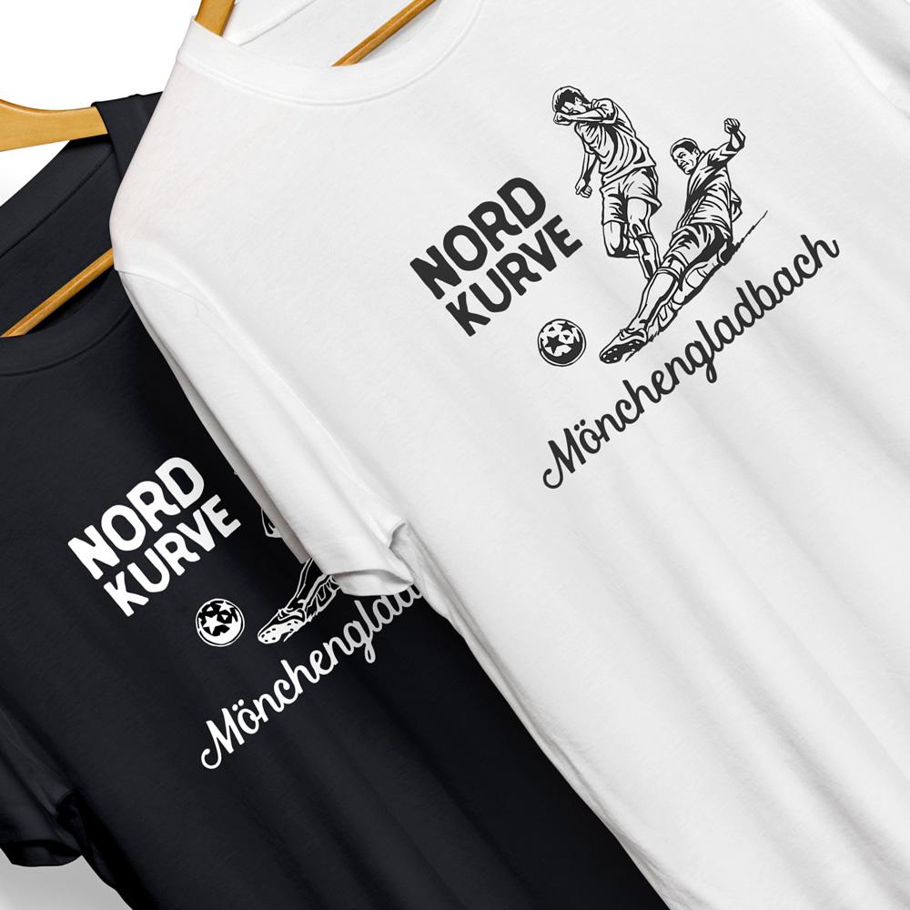 T-Shirt Fankurve Mönchengladbach