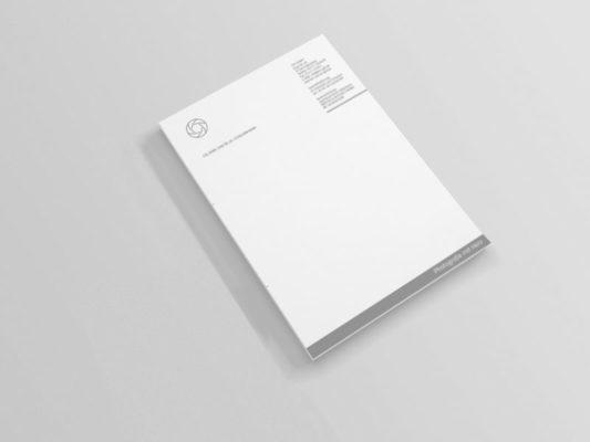 Geschäfliches Briefpapier gestalten lassen