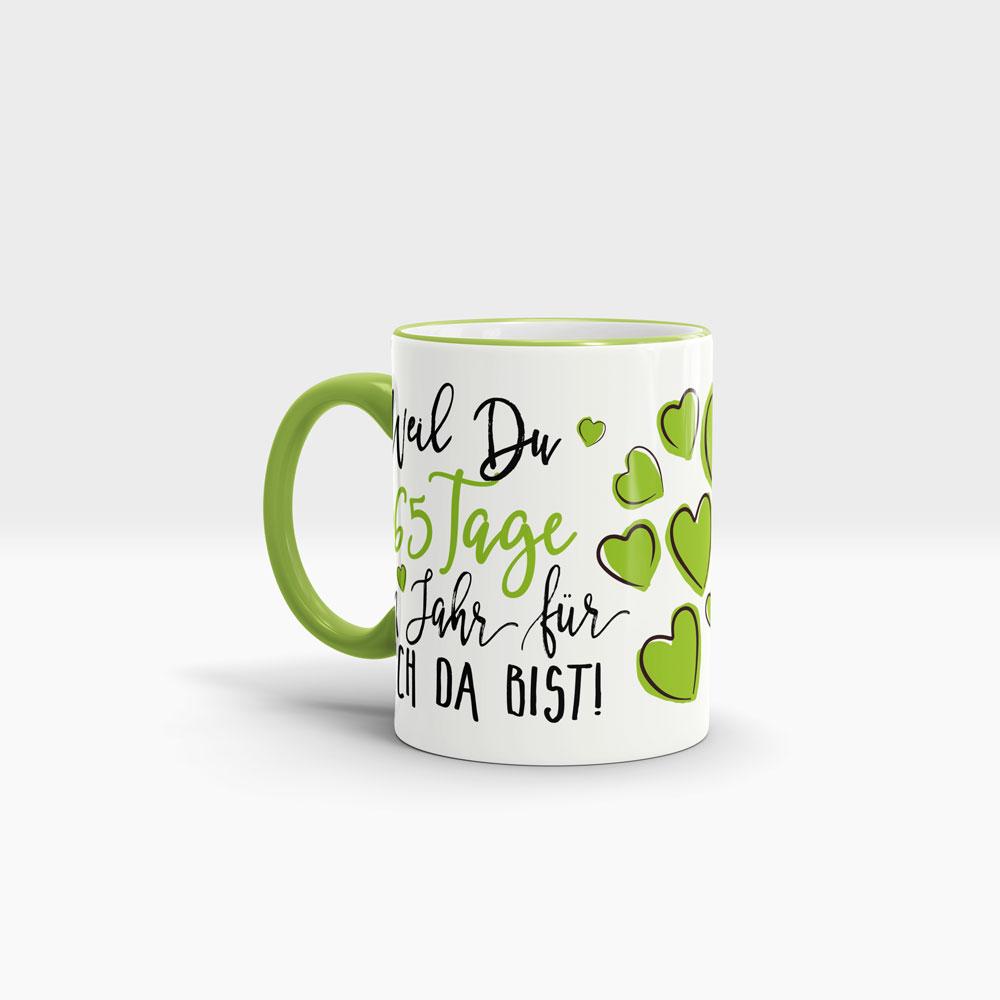 Motiv Lieblingsmensch Tasse mit Namen Engelmaus