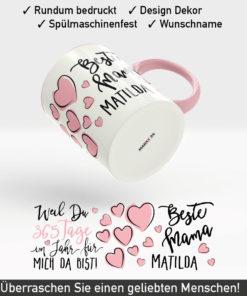 Tassen Geschenk Muttertag für die beste Mama der Welt