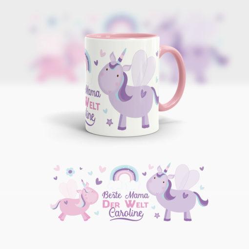 Tasse als Muttertagsgeschenk