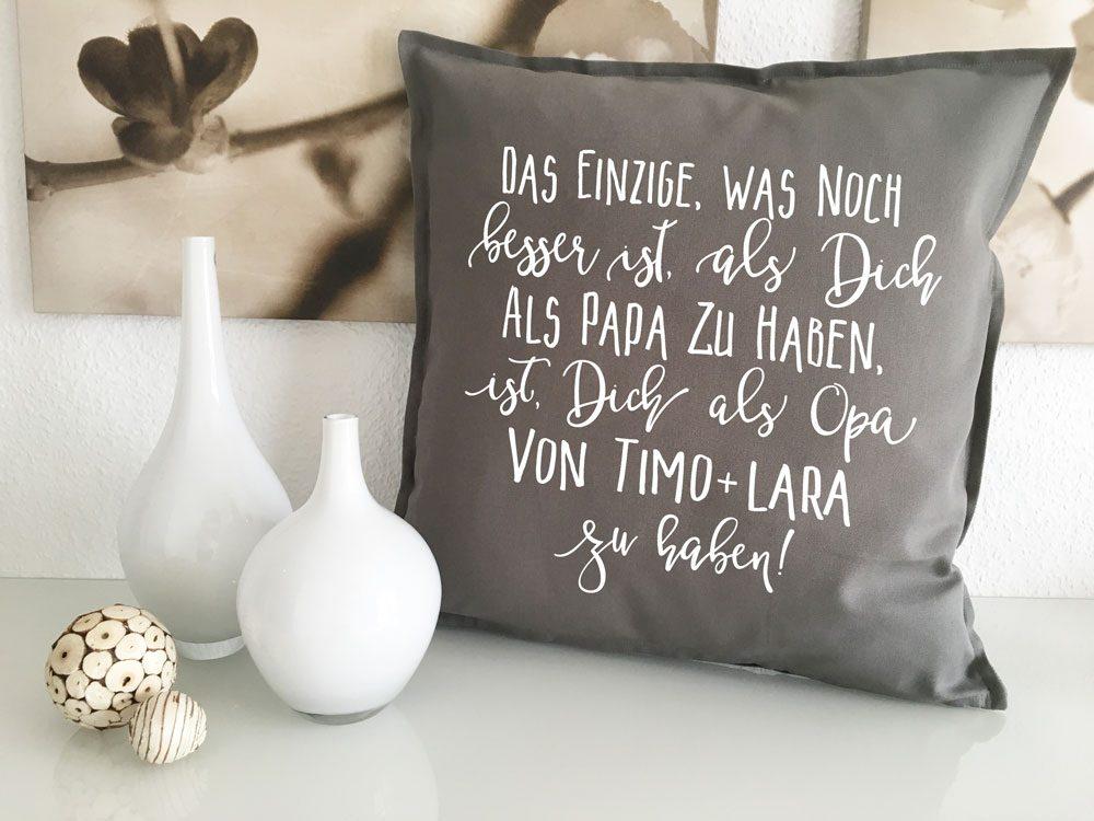 Idee Geschenk Opa Geburt