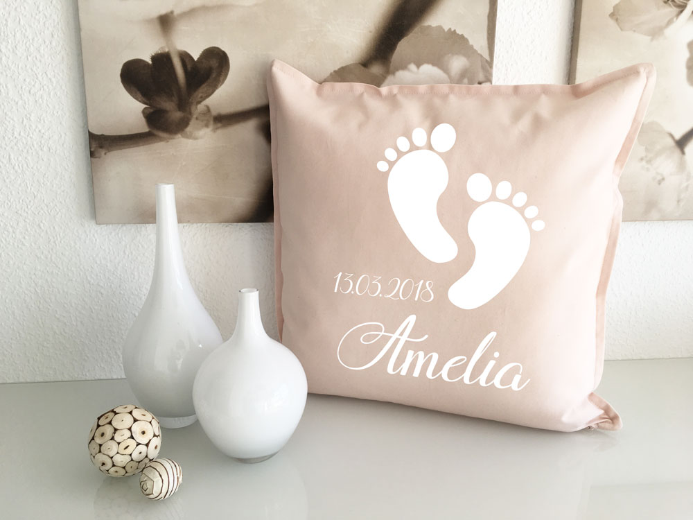 Personalisierte Geschenke Geburt Mädchen