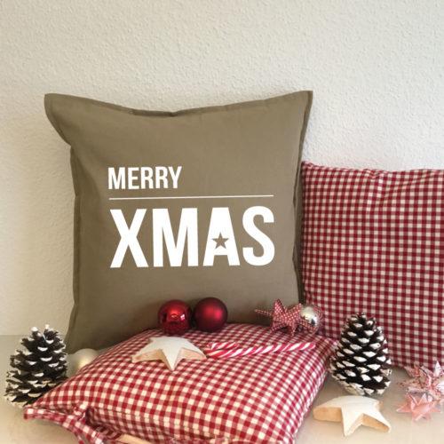Kissen Geschenke zu Weihnachten