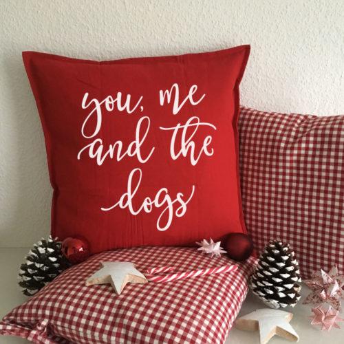 Bedruckte Kissen für Tierfreunde