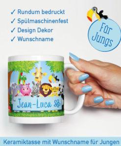 Kinder Gutschein Ideen Zoobesuch Tasse