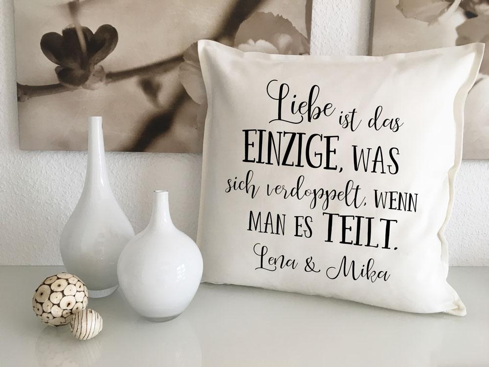 Kissen Geschenke für Verliebte