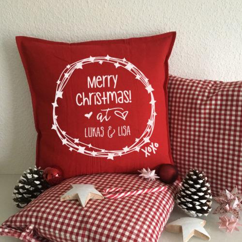 Kissen Geschenke zu Weihnachten für Verliebte