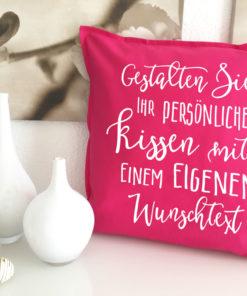 personalisierte Sprüche Kissen selbst bedrucken lassen