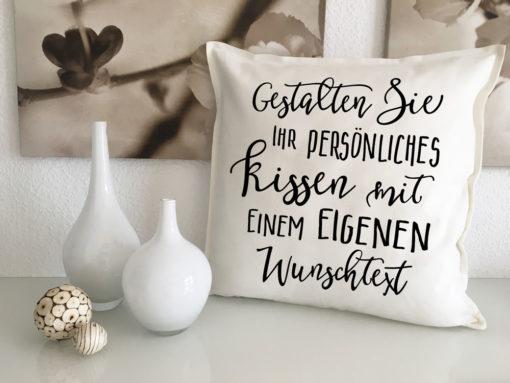 Deko Kissen personalisiert mit Sprüchen