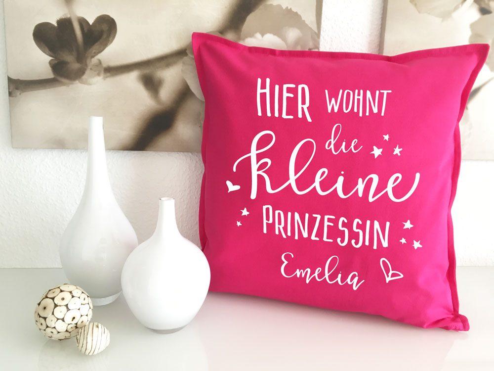 Kleine Prinzessin Geschenk mit Namen