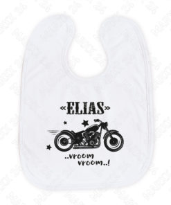 Kleinkind Lätzchen bedruckt mit Namen
