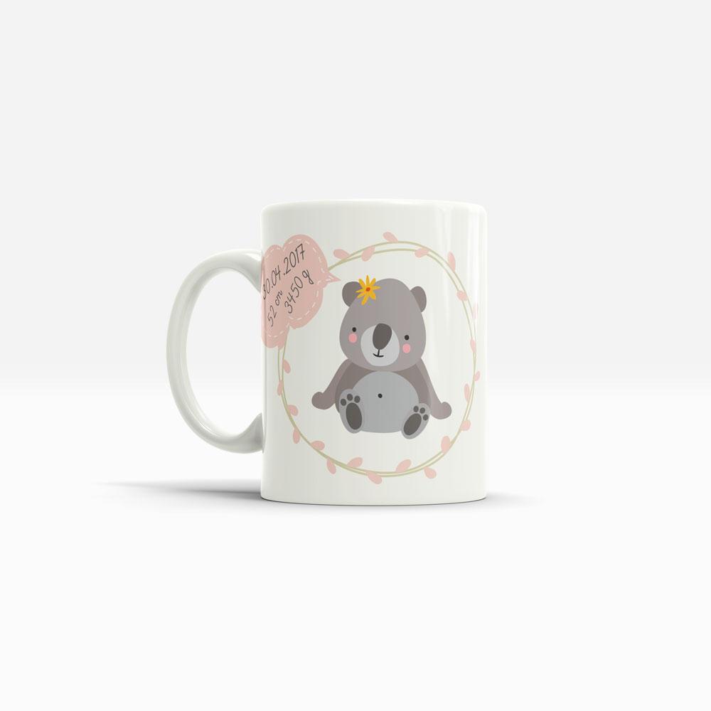Koalabär Geschenk in Form einer Tasse