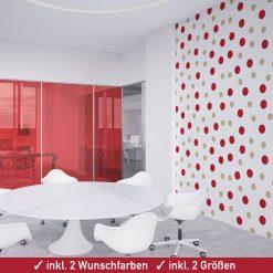 Konfetti Aufkleber für die Wanddekoration