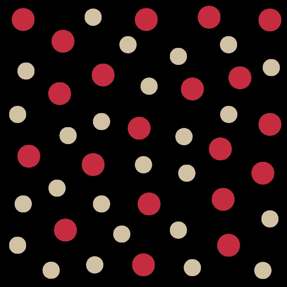 Kreise Dots in verschiedenen Farben und Durchmesser